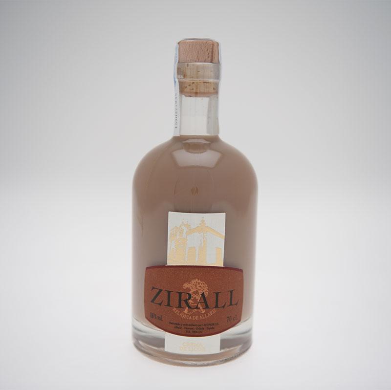 crema de orujo Zirall